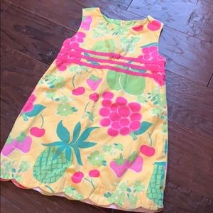 Lilly Pulitzer fruit dress
